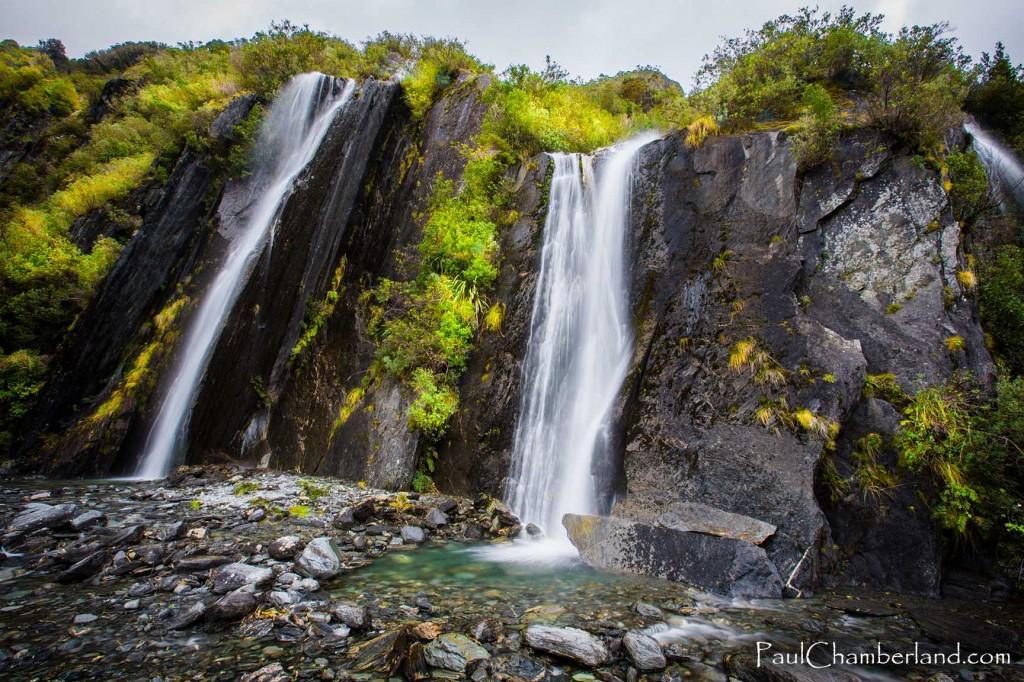 Nouvelle Zélande-île du sud-Chutes-Franz Josef