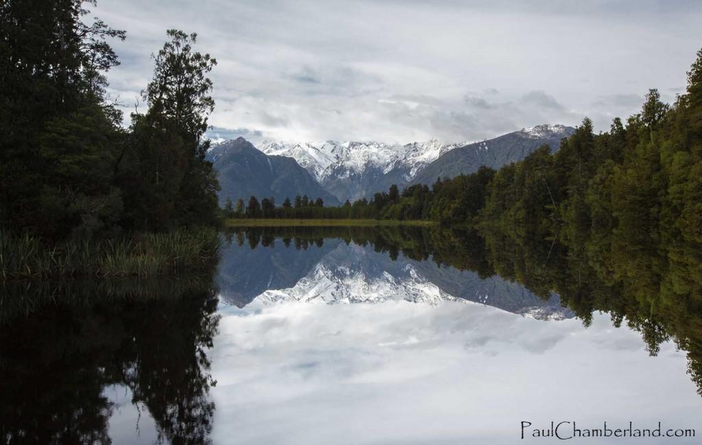 Nouvelle Zélande-île du sud-Lac Matheson
