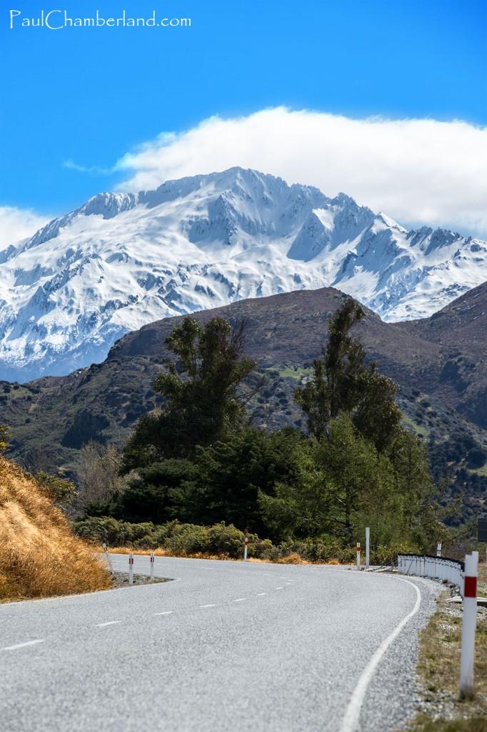 Nouvelle Zélande-île du sud-Route-Lac Hawea