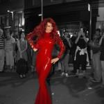 Bianca Beauchamp-Latex-Dress-Montreal Fetish Weekend