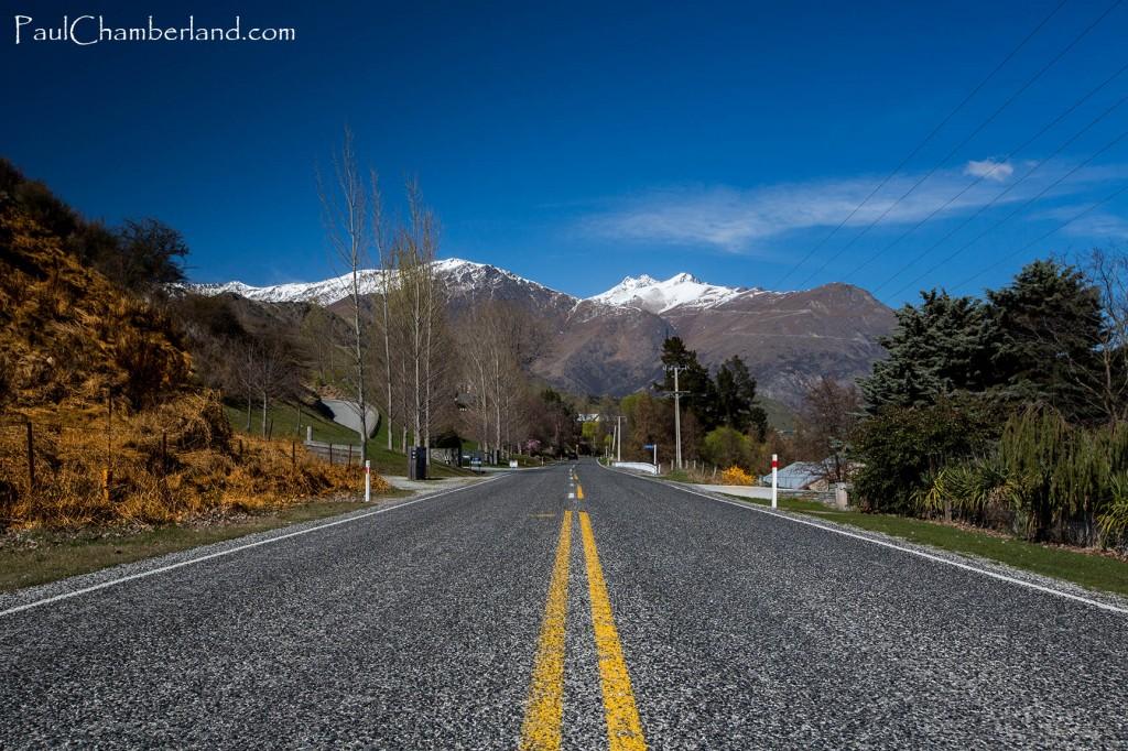Nouvelle Zélande-Route-île du sud