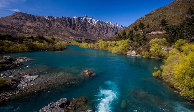 Nouvelle Zélande-Lac Wakatipu-île du sud