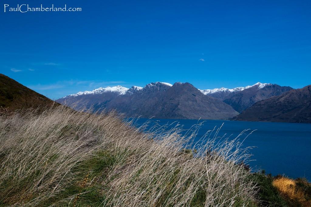 Nouvelle Zélande-Lac Wakatipu-île du sud-Montagnes
