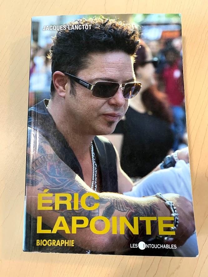 Biographie d'Éric Lapointe