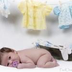 Annaë-Photo de Bébé-enfant-Corde à Linge