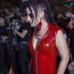 Montreal Fetish Weekend-Latex-Nadia Bélanger-Red Carpet