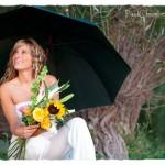 Katherine-Ville de Lery-Yeux bleu-Parapluie-Robe Blanche
