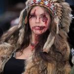 Montréal Zombie walk 2014-Indienne